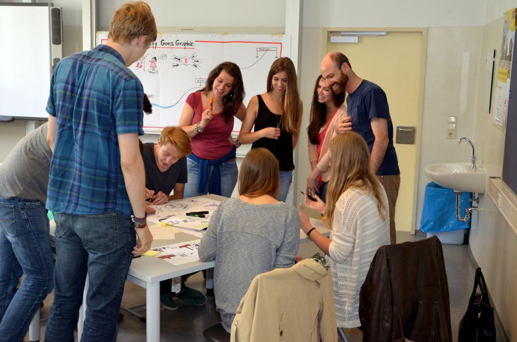 Workshop as reward: Graphic Facilitation, photo by talentify.me