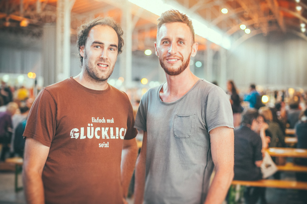 Childhood friends and business partners: Gabor Hillinger and Roman Groiss, Photo © Philipp Lipiarski, goodlifecrew
