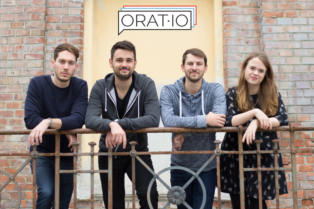 The orat.io team © Stefan Malzner